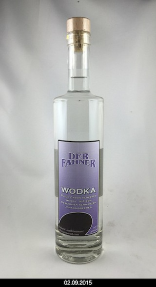 Wodka - black cassis